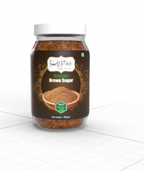 Foodstrukk Organic Brown Sugar(Pack of 3)