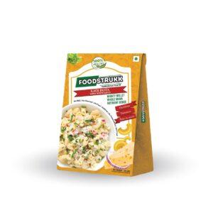 Foodstrukk Ragi Pasta In White Sauce(Pack of 3)