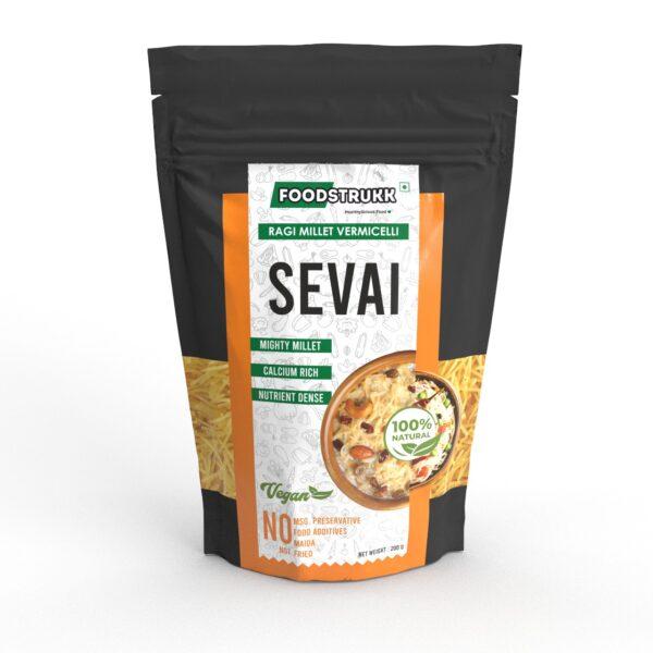 Foodstrukk Ragi Vermicelli(Pack of 3)