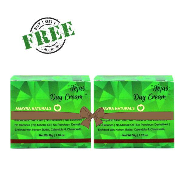 Amayra Naturals Tejas – Brightening Day Cream 50gm [ BUY 1 GET 1 FREE ]