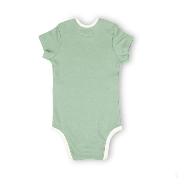 Half Sleeve Onesie- Sage Green