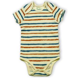Half Sleeve Onesie- Stripe Hype