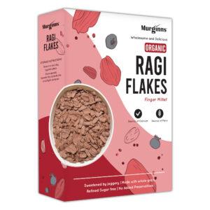 Murginns Ragi Flakes - Organic 275g