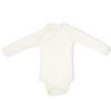 Full Sleeve Kimono Onesie- Chalk White