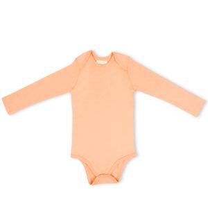 Full Sleeve Onesie- Coral Blush