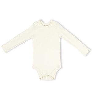 Full Sleeve Onesie- Chalk White