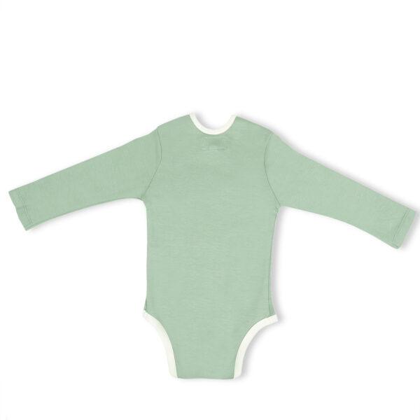 Full Sleeve Onesie- Sage Green