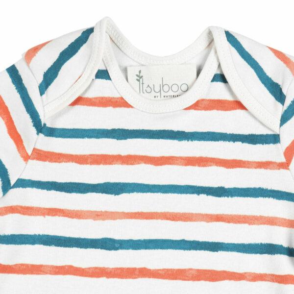 Full Sleeve Onesie- Stripe Hype
