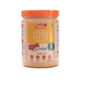 Organic Peanuts butter creamy (1kg)