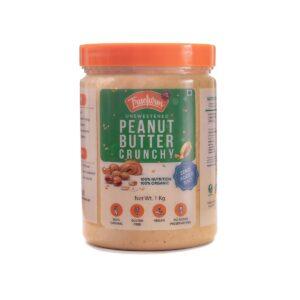 Organic Peanuts butter crunchy (1kg)