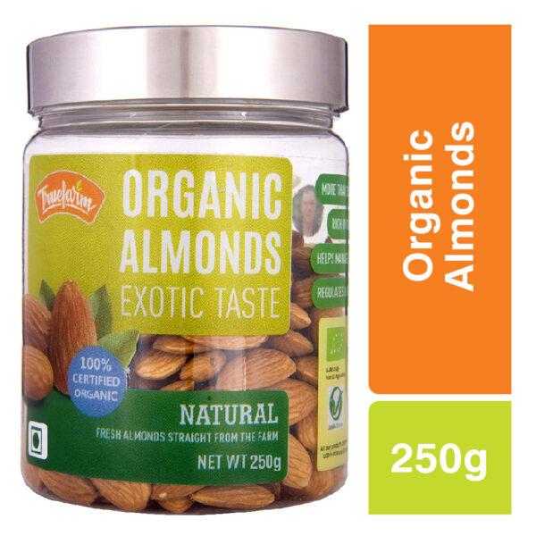 Truefarm Organic Natural Almonds (250g)