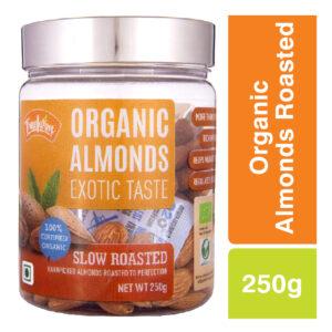 Truefarm Organic Almonds Roasted (250g)
