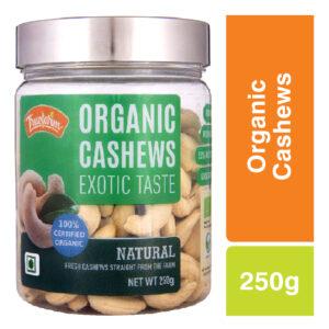 Truefarm Organic Natural Cashews (250g)