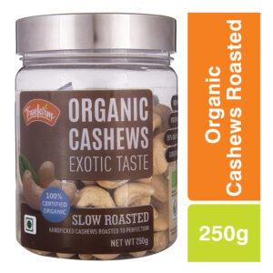 Truefarm Organic Cashews Roasted (250g)
