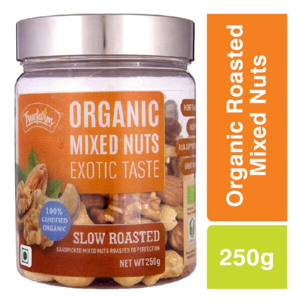Truefarm Organic Roasted Mixed Nuts (250g)