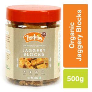 Truefarm Organic Jaggery Blocks (500g)
