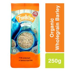 Truefarm Organic Wholegrain Barley (250g)