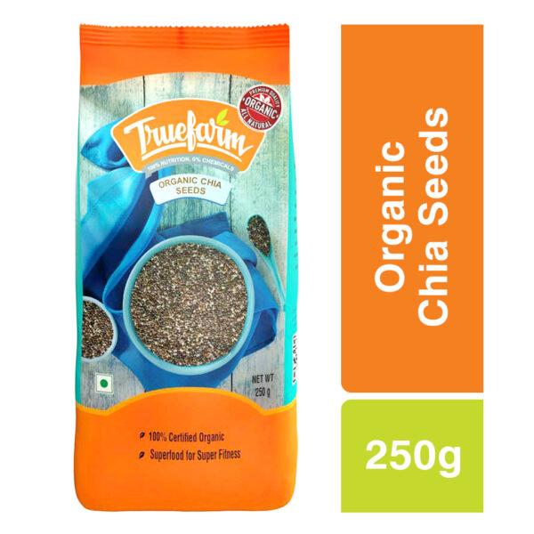 Truefarm Organic Chia Seeds (250g)