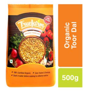 Truefarm Organic Toor Dal (500g)