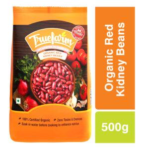 Truefarm Organic Red Kidney Beans (500g)
