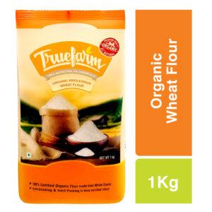 Truefarm Organic Wholegrain Wheat Flour (1kg)