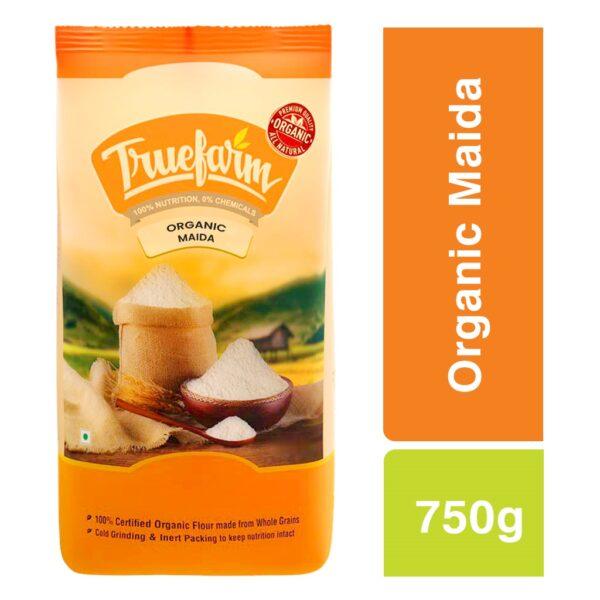 Truefarm Organic Maida Flour (750g)