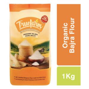 Truefarm Organic Bajra Flour (1kg)