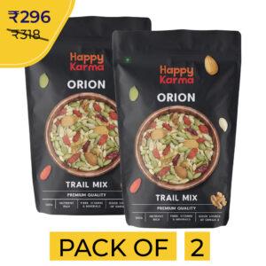 Happy Karma Orion Trail Mix 100g*2   Healthy snacks   Super Seeds  