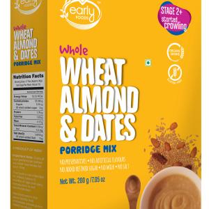 Whole Wheat, Almond & Date Porridge Mix 200g