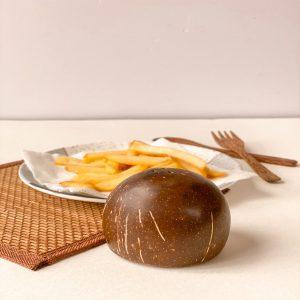 Coconut Shell Salt and Pepper
