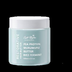 RESTORATIVE HAIR BUTTER Pea Protein Murumuru Butter Rice Ferment