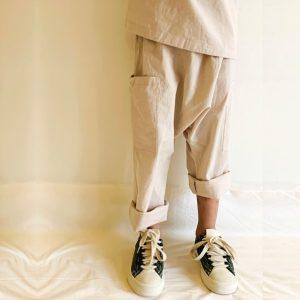 Aaron Pants with Pockets (Beige)
