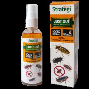 Herbal Strategi Cockroach Repellent Spray -500 ml