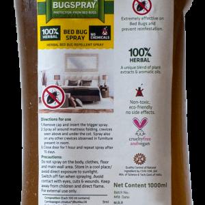 Herbal Strategi Bed Bug Repellent -1000 ml