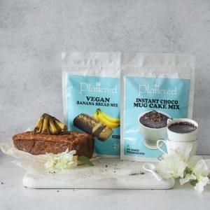 Vegan Banana Bread mix+ Instant Choco Mug Cake