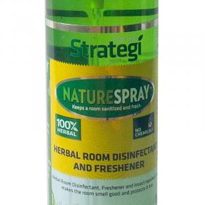 Herbal Strategi Room Disinfectant and Freshener - Whitelilly-250ml