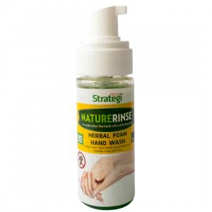 Herbal Strategi Foam Hand Wash -70ml