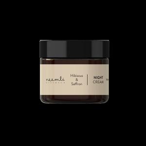 Hibiscus and Saffron Night Cream 50 ml