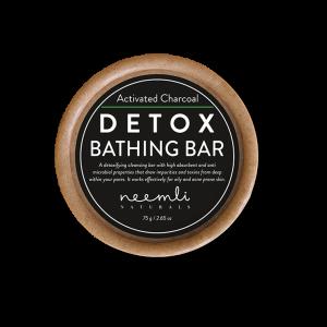 ACTIVATED CHARCOAL DETOX BATHING BAR 75 gram