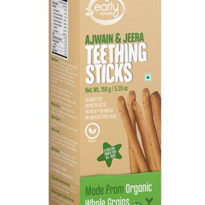 Whole Wheat Ajwain Jaggery Teething Sticks 150g