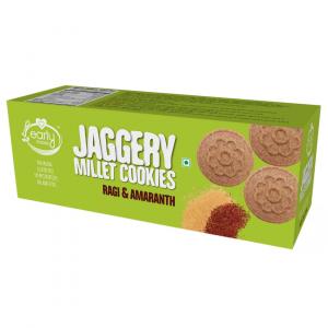 Ragi & Amaranth Jaggery Cookies 150g