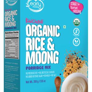 Organic Rice & Moong Khichdi Mix 200g