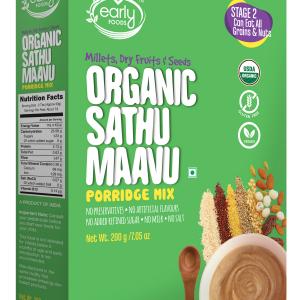 Organic Sattu Maavu Multi-grain Millets Porridge mix 200g