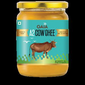 GAIA A2 Cow Ghee, from Cow Milk ,1 LTR