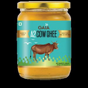 GAIA A2 Cow Ghee, from Cow Milk ,500 ml