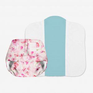 SuperBottoms Newborn UNO - Cherry Blossom