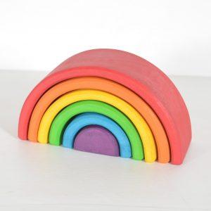 6-Piece Rainbow Stacker-Chitrani