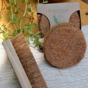 Coconut Fiber- Coir Scrub & Laundry Brush