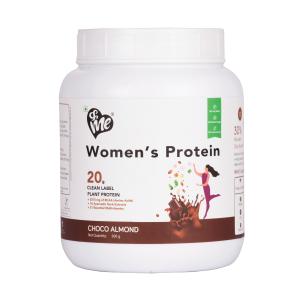 &Me Overall WellnesPlant Based Vegan Protein Powder for Women (500 grams)