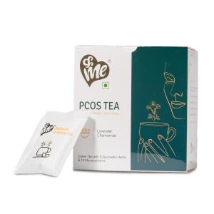 &Me PCOS Tea-Lavender Chamomile, 1 box